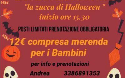 LABORATORIO DI HALLOWEEN 30/10/2021